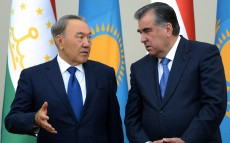 Joint briefing after the talks of the President of Kazakhstan and President of Tajikistan