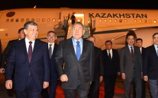 Working visit to the Republic of Uzbekistan