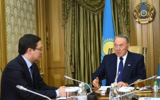 Meeting with Chairman of the National Bank of Kazakhstan Daniyar Akishev
