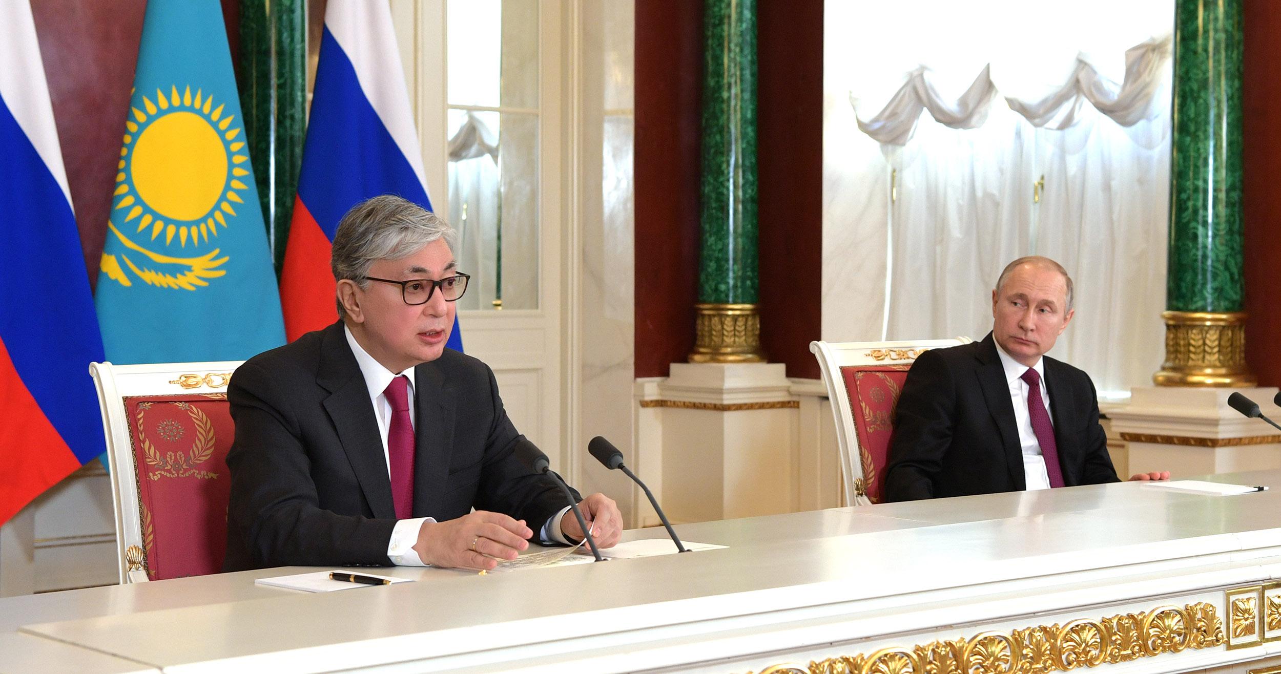总统:哈萨克斯坦与俄罗斯将延续友好关系