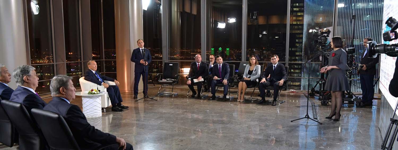 В Астане прошла встреча руководителей гос СМИ и президента Назарбаева
