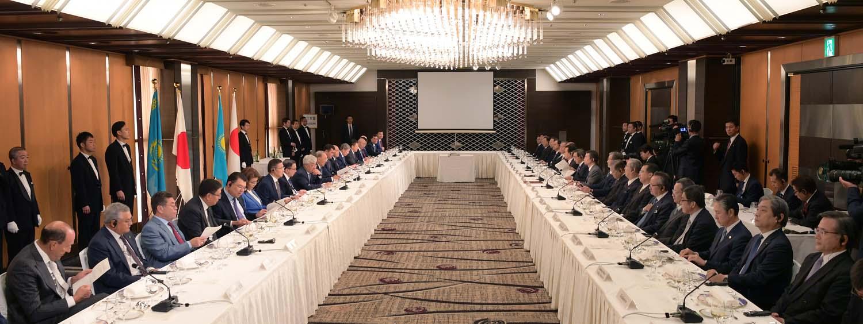 В Японии состоялась важная встреча представителей бизнеса и президента Казахстана