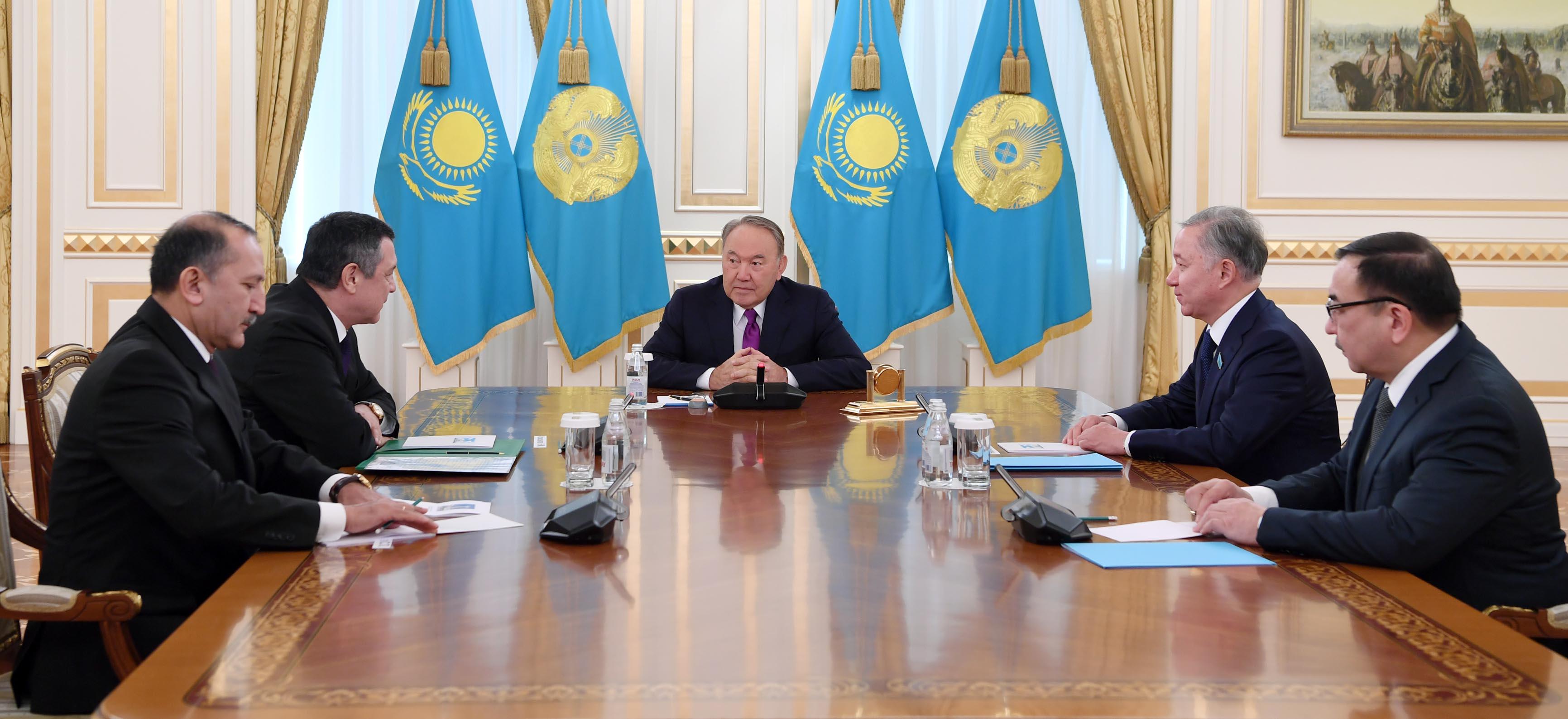 Мемлекет басшысы Өзбекстанның Олий Мәжілісі заң шығару палатасының спикері Нурдинжон Исмоиловпен кездесті