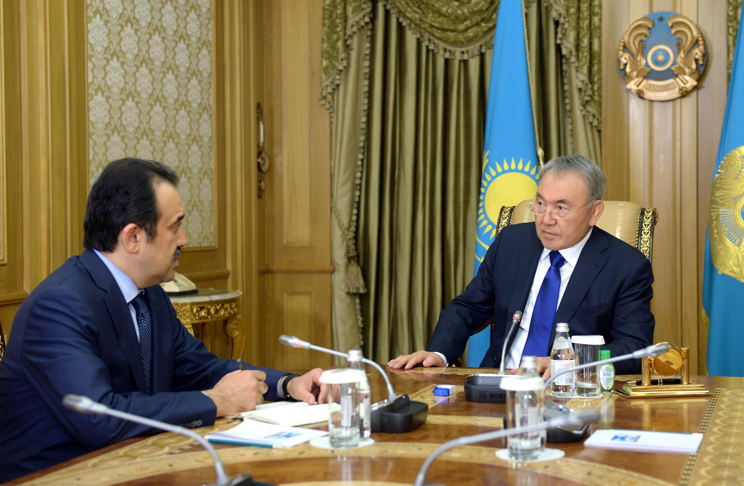 Назарбаев отметил работу нацкомиссии по модернизации